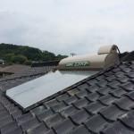 津山市 S様邸 太陽熱温水器(ソーラー)設置させていただきました!